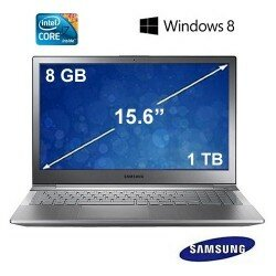 "Samsung NP350V5C-S0JTR Intel i5 3230M 2.6GHz 6GB 750GB 15.6"" Notebook"