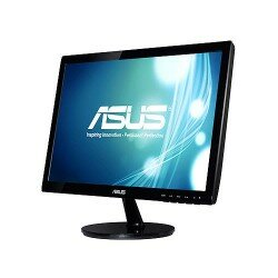 ASUS  18,5 ASUS VS197N LED 1366x768 5ms DVI,VGA VESA Monitör
